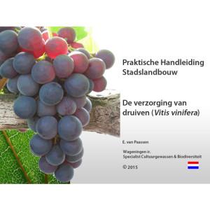 eBook De Verzorging van Druiven, een praktische handleiding.